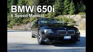 2009 BMW 650i Manual Convertible Review - Ultimate Automotive Therapy