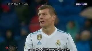 هدف فياريال ضد ريال مدريد 1-0  تعليق رؤوف خليف