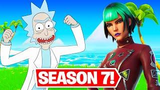 *SEASON 7* GAMEPLAY!! TOXIC RICK UNLOCKED! (Fortnite Season 7)