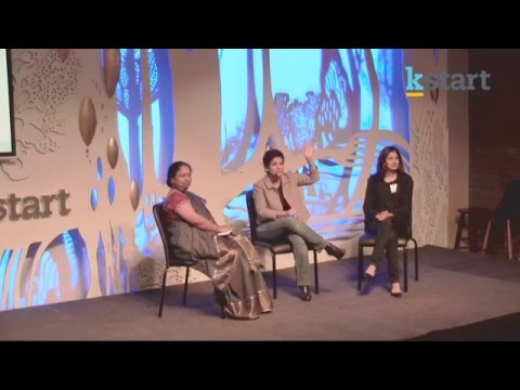 Startup Girls : Lakshmi Pratury in conversation with Varsha Rao and ...