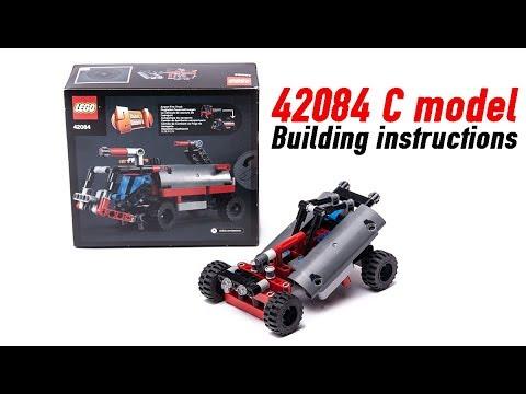 Lego Technic 42084 C Model Building Instructions Youtube