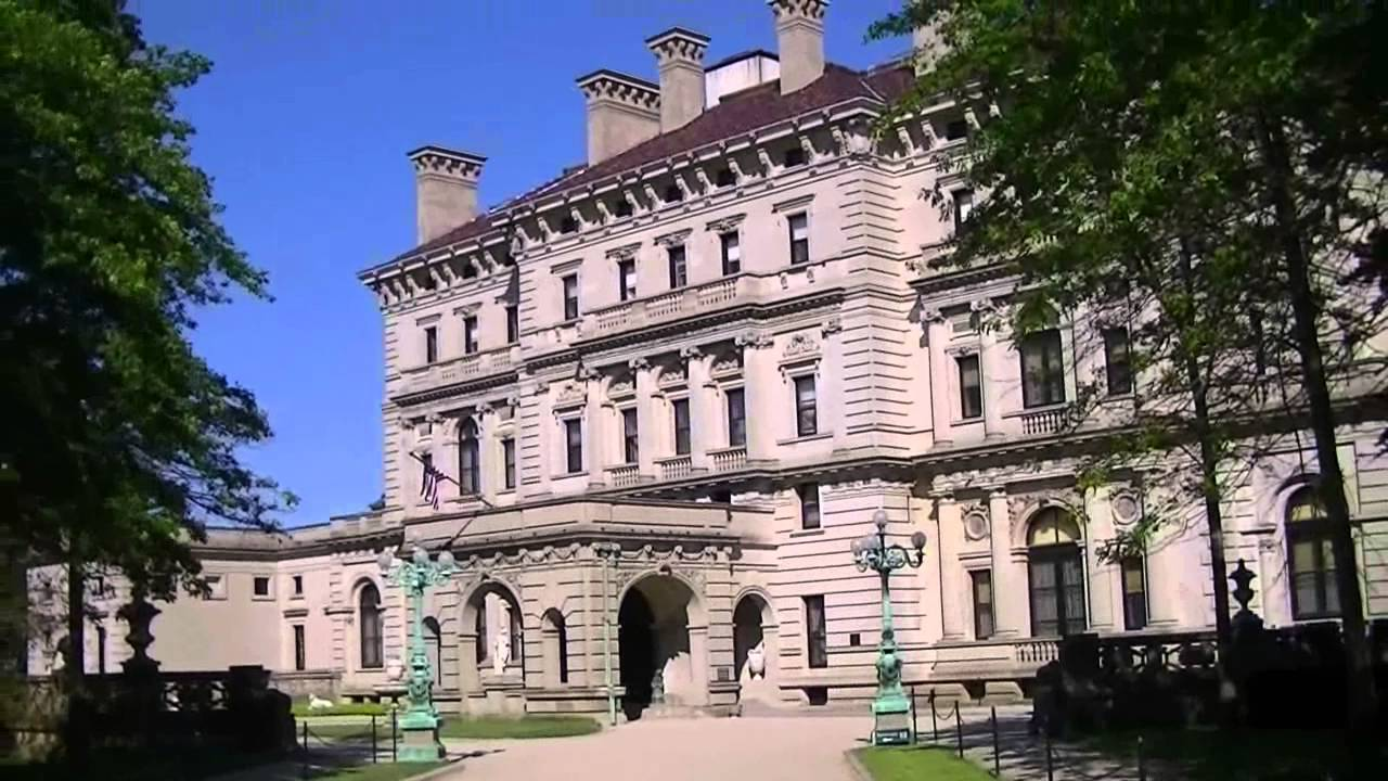 The Breakers Mansion in Newport, Rhode Island, USA - YouTube