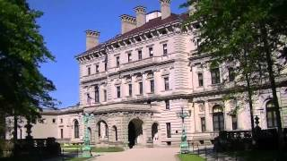 The Breakers Mansion in Newport, Rhode Island, USA