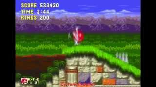 Sonic The Hedgehog 3 Knuckles Sega Mega Drive Genesis Longplay Knuckles The Echdina