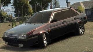 GTA IV ВАЗ 21099