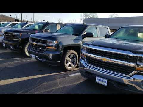 Pickup trucks in stock current and new body style