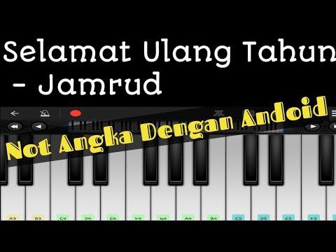 Not Piano Selamat Ulang Tahun Jamrud Tutorial Youtube