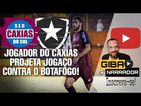 Jogador do Caxias projeta jogaço pela Copa do Brasil