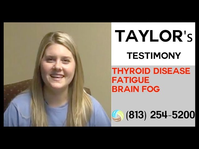 Low Thyroid Tampa, Fatigue, Hashimoto's, Brain Fog