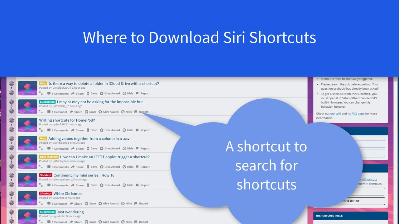 5 Places to Download Siri Shortcuts for iOS 12 [Shortcuts Finder]