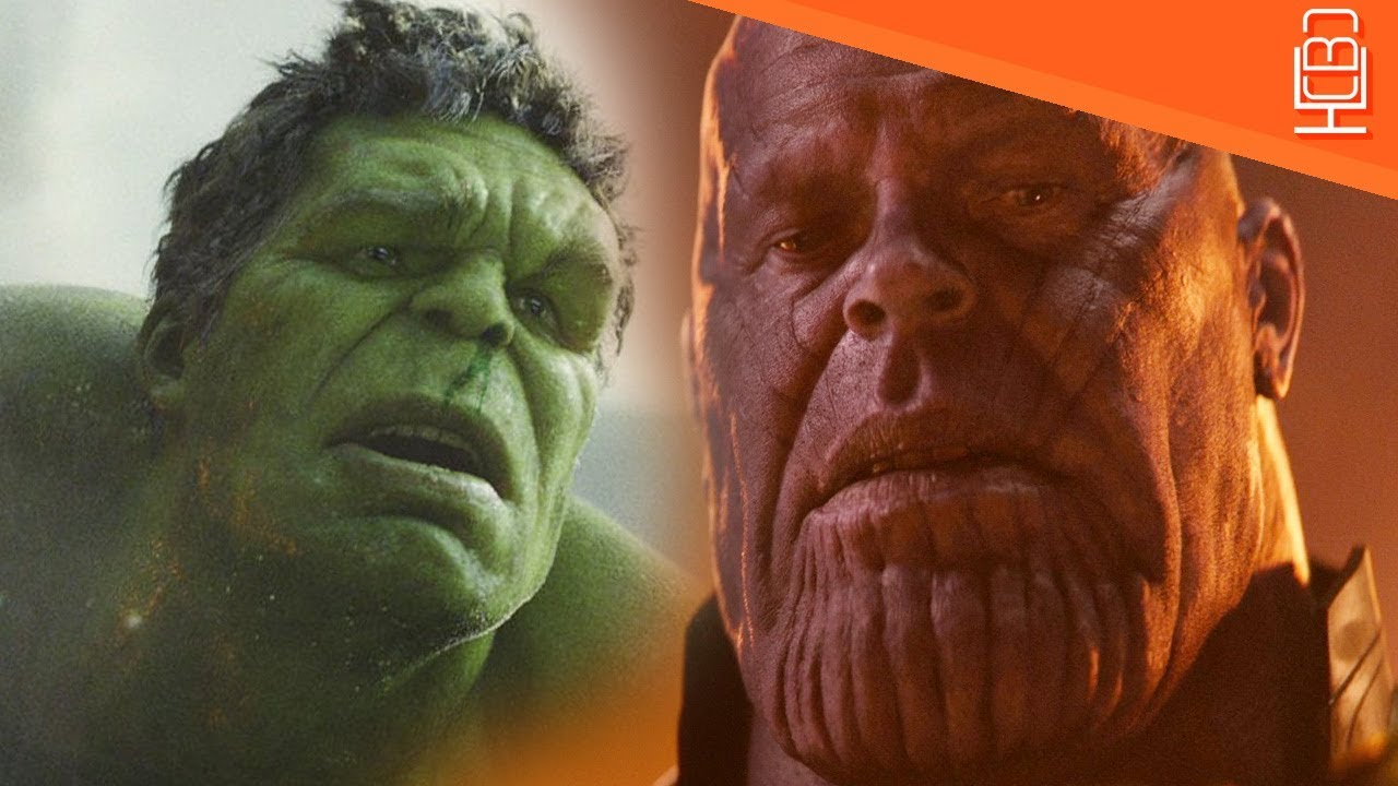 Hulk Vs Thanos in Avengers Infinity War….Hulk is Terrified & Afraid