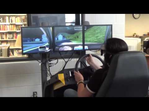Impaired Driving Simulator at Central Crossing High School