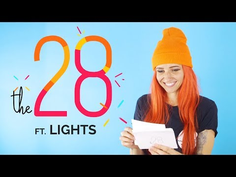 Lights Plays 'Would You Rather' & Answers Fan Questions!  | JUNO TV's The 28