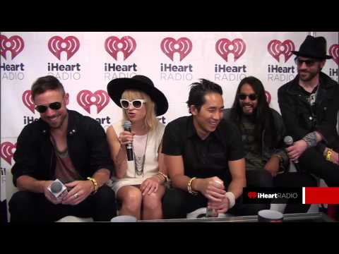 The Airborne Toxic Event Interview @ Lollapalooza