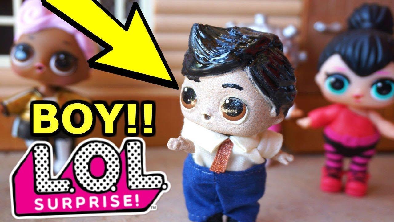 Boy Lol Surprise Doll New Diy How To Make A Boy Lol
