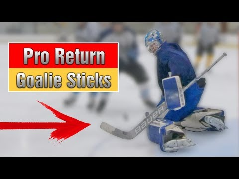 PRO RETURN GOALIE STICKS