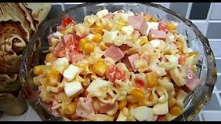 Вкусно-# Салат с лапшой быстрого приготовления .