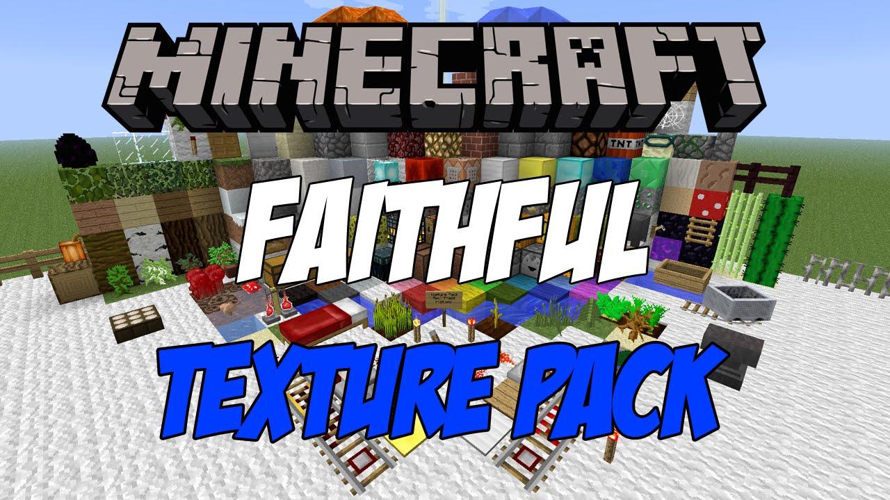 Faithful Texture Pack