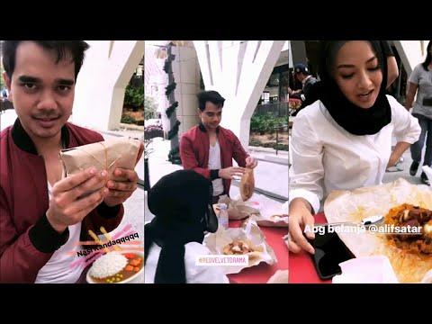 Neelofa TERLIUR tengok Nasi Kandar yang Alif Satar belanja kat set drama Red Velvet