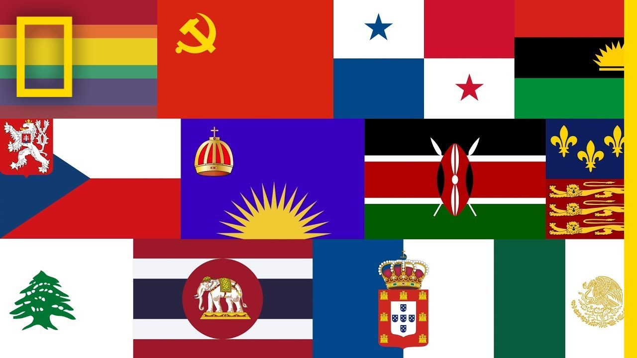 The Evolution of Over 2,000 World Flags | Short Film Showcase