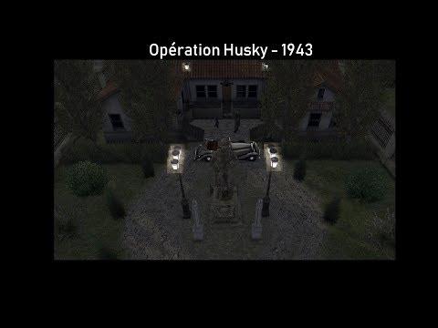 Pozzalo - Italie 1943 - Opération Husky V.1  
