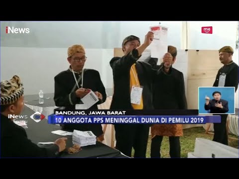 10 Anggota PPS di Jawa Barat Meninggal Dunia Akibat Kelelahan Kawal Pemilu - iNews Siang 20/04