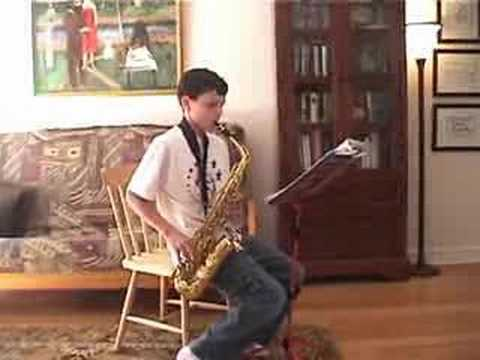 Deck the Halls played on alto sax