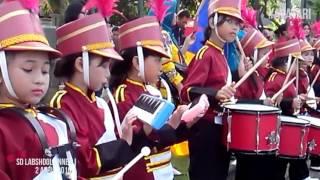 Drum Band SD Labschool Unnes Semarang performing Cinta Hampa D
