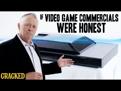 The Naked Truth About Video Game Commercials