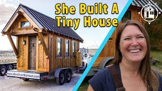 She Built a Tiny House to Escape Rat Race & Found Freedom!