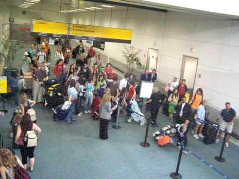 Newark International Arrivals