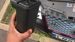 REPLACING THE CHARCOAL CANISTER ON AN MK5 VW GOLF GTI.