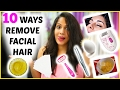 Remove Facial Hair Instantly * 10 WAYS * Remove Unwanted Hair Permanently | ShrutiArjunAnand