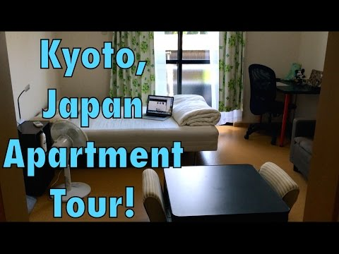 Apartment Tour in Kyoto, Japan! (JET Program - Updated)