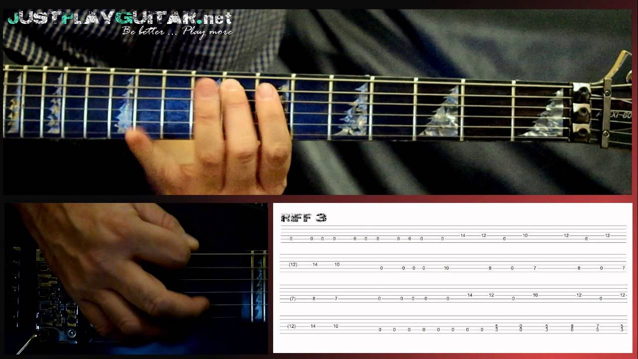 Bullet For My Valentine Tears Don T Fall How To Play Part 2 2