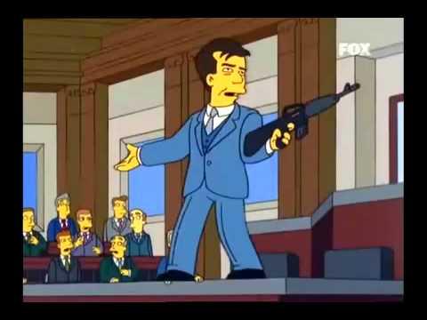 Homero y Mel Gibson: Quienes apoyan la mocion digan muerte