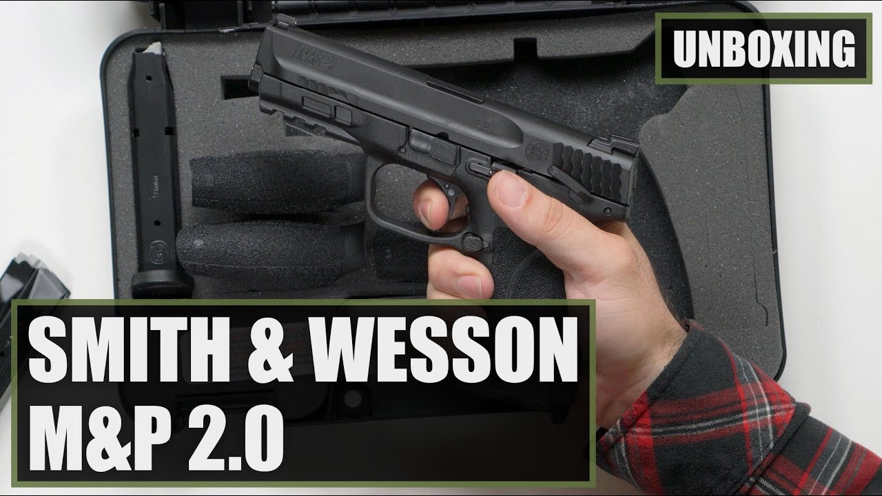 Smith And Wesson 12039 Unboxing: Unboxing The Smith And Wesson M&P 2.0 9mm Pistol