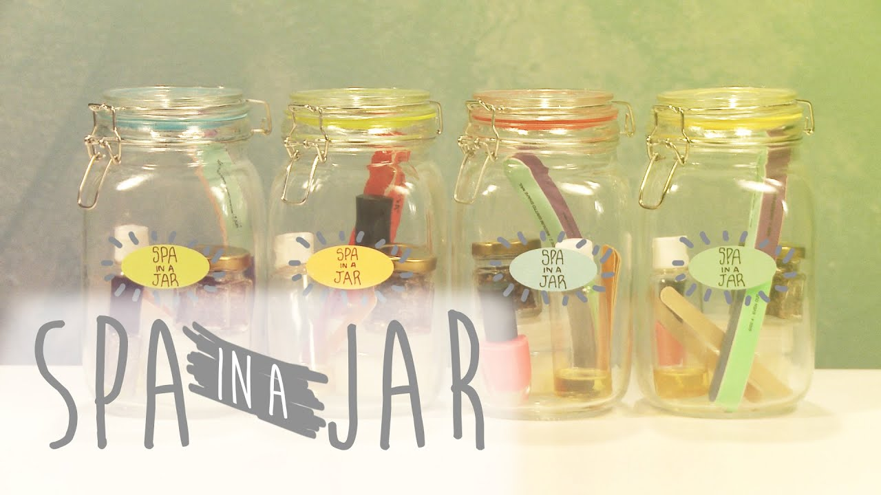 Diy Spa In A Jar Youtube