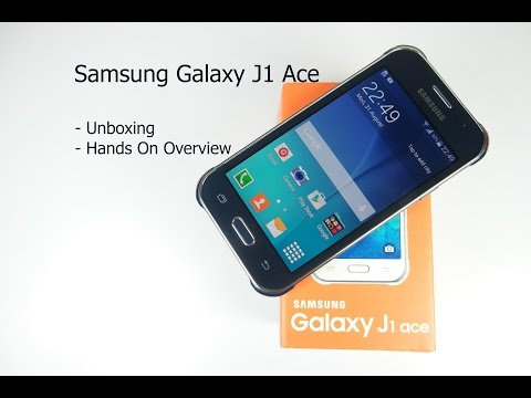 Samsung j1 ace unboxing hindi