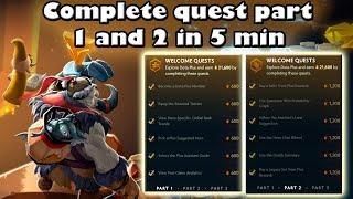 Como completar quest 1 y 2 DOTA 2 PLUS | Radiance