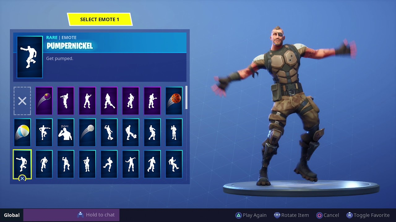 Fortnite Pumpernickel Dance 1 Hour Youtube