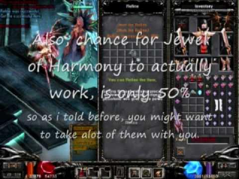 Mu online jewel of harmony best options