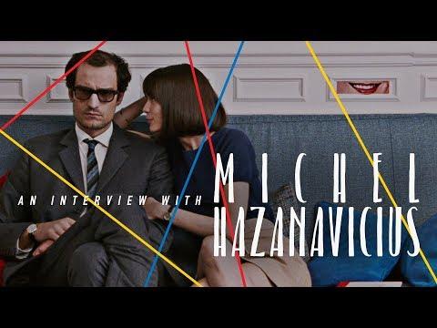 An  with Director Michel Hazanavicius