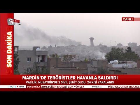 Son Dakika: Mardin'de Teröristler Havanla Saldırdı 2 Şehidimiz Var! / A Haber