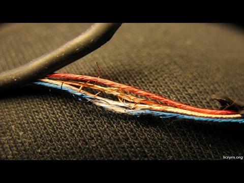 ✅ Как починить розрыв провода в наушниках ✅