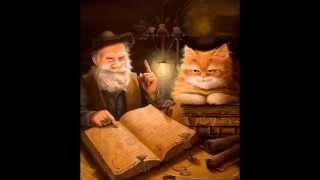 Сказочные коты-баюны Александра Маскаева