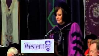 Western Convocation - June 11, Cherie Blair thumbnail