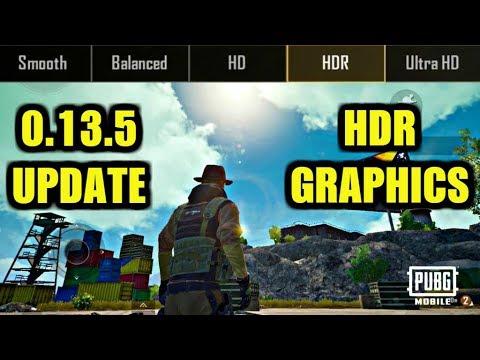 Pubg Mobile 0 13 5 Update : NEW GRAPHICS HDR GAMEPLAY IN ERANGEL!