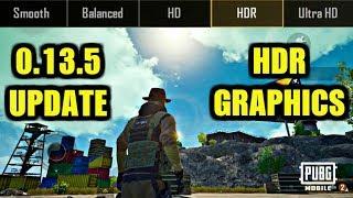 Pubg Mobile 0.13.5 Update : NEW GRAPHICS HDR GAMEPLAY IN ERANGEL!