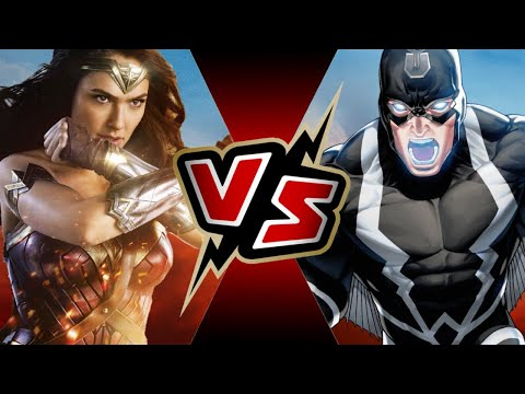 Wonder Woman VS Black Bolt | BATTLE ARENA